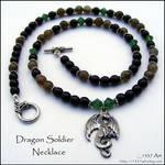 Dragon Soldier Necklace 4 men