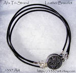Als TriStrand Leather Bracelet