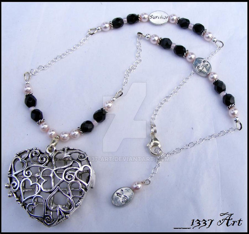 Donation - Heart Necklace by 1337-Art