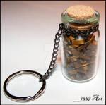 Tiger Eye Potion Key Chain
