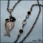 Fallen Angel Necklace Long