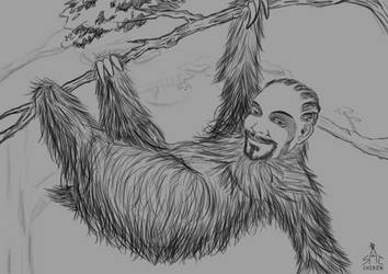 Sloth Dogg by SatchanSatchiiSan