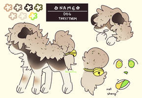 sheep leaf dog adopt [closed] by bisqitsu