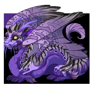 Royal Purple Hatchling by mysterie2001