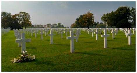 Grave of PFC R. M. Schatzel