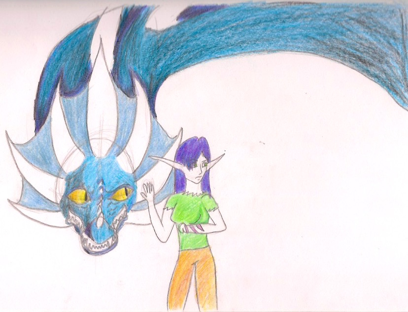Full Color..::.. Calm the dragon by JCF13