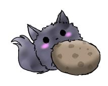 puffball cebby has cookies by SparkleSkullz