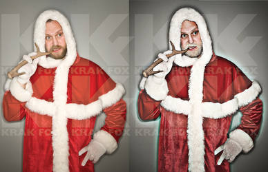 Bad Santa by Krak-Fox