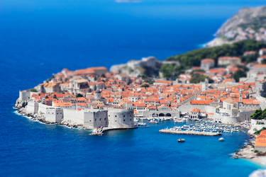 Dubrovnik Tilt Shift by Krak-Fox