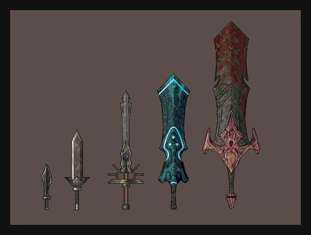 Swords Study by h1uru