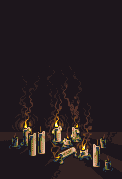 Candles by h1uru