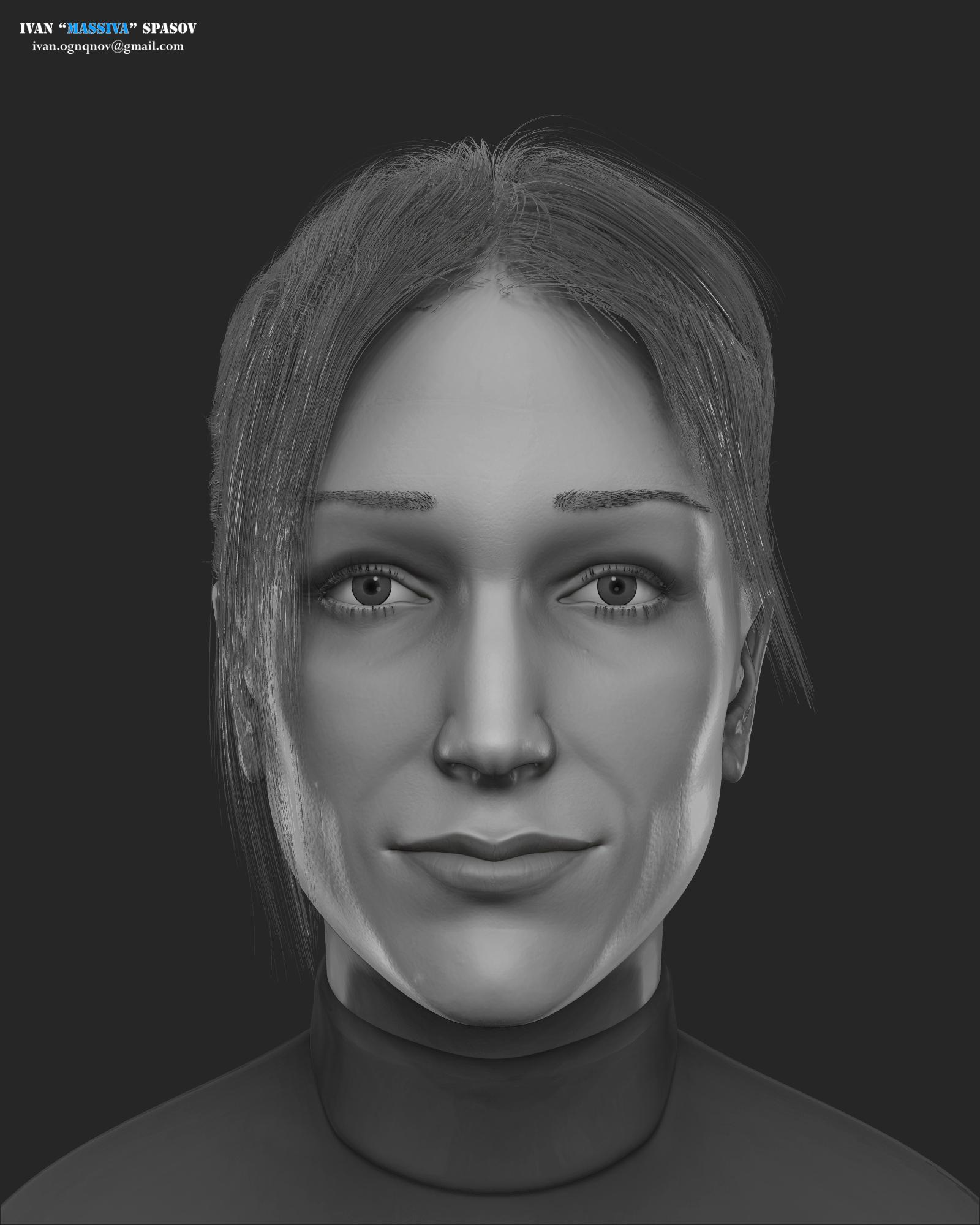 Alex Reid Portrait Study by ivanognqnov on DeviantArt