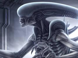 Ultramorph-Alien II by Woodvile