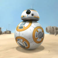 Star Wars - BB-8 by Woodvile