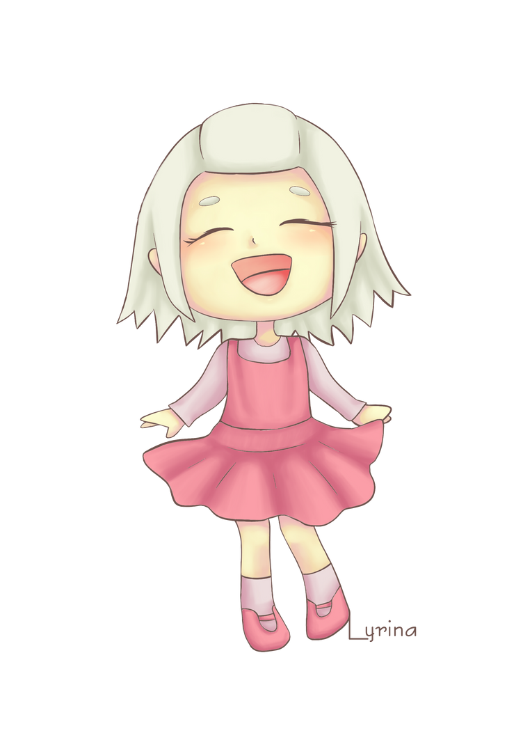 Commission ACNL Chara @Pinkbunnyleif + Speedpaint by ViciScribbles