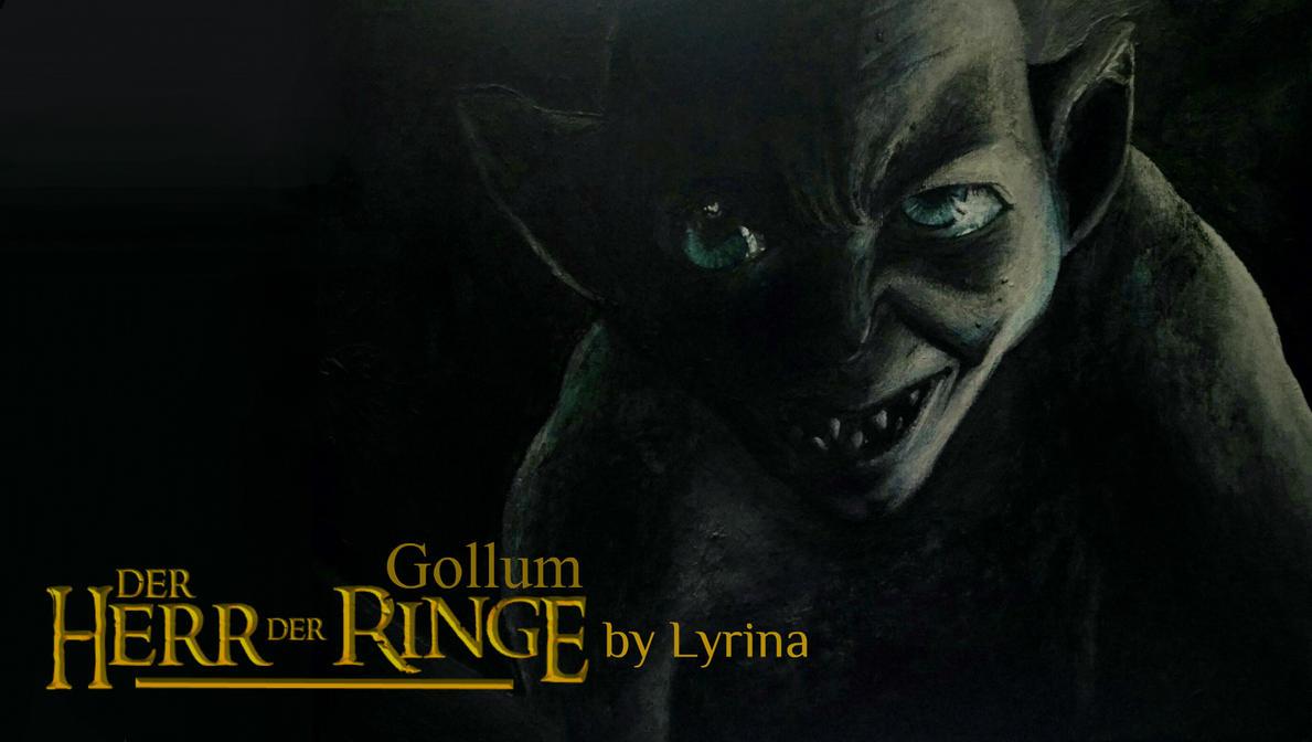 Gollum | Oil Picture + Speedpaint by ViciScribbles