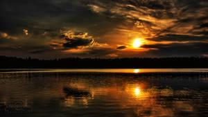 Sunset At Sisjon by SL-PhotographySWE