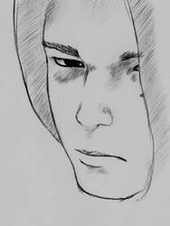 dervish brother portrait by Yantoku