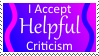 Helpful Criticism Stamp by Emme2589