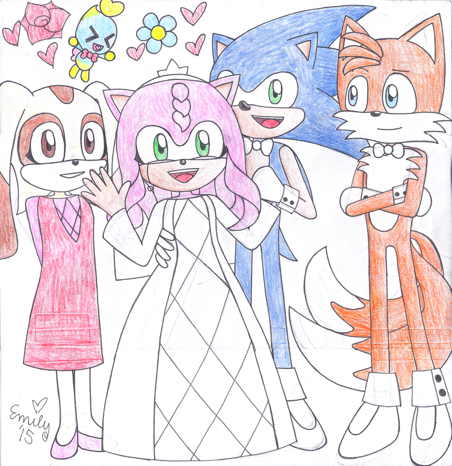 Wedding of Sonic and Amy! by Emme2589 on DeviantArtSonic And Amy Wedding Naruto