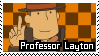 Professor Layton Stamp by Emme2589