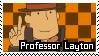 Professor Layton Stamp by Emme2589