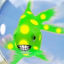 Modified Vista logon fish by Pigletiger