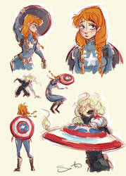 The Winter Soldier by samanthadoodles