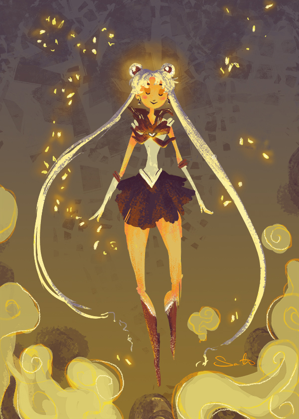 Sailor Moon by samanthadoodles
