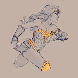 WW Doodle II by samanthadoodles