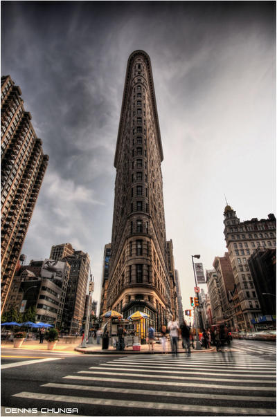 FlatIron Building NYC by DennisChunga