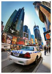 Times Square Patrol by DennisChunga