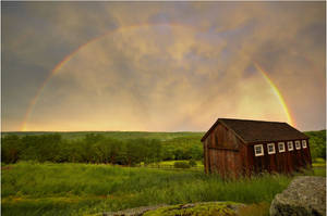 Rainbow Evening by DennisChunga
