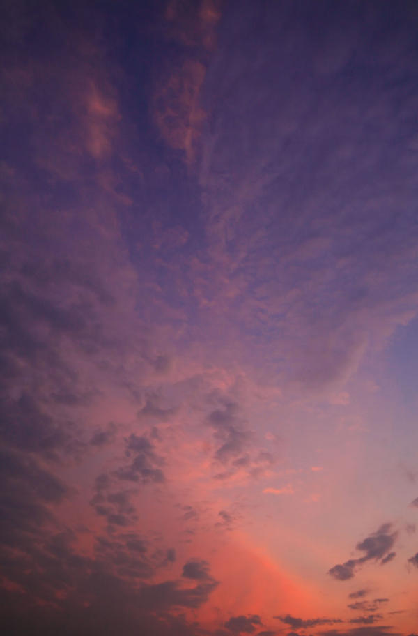 Sunset Sky - STOCK by DennisChunga