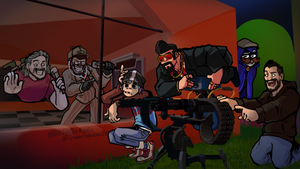 TF2 - Team Fabulous 2 Reanimated Poster