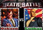 DEATHBATTLE: Norman Osborn vs Lex Luthor