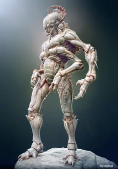 Creature sculpt beautyshot.