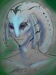 Zora Color Sketch by DizzyLizzy101