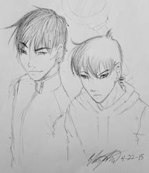 Detective Conan Doodle by DizzyLizzy101