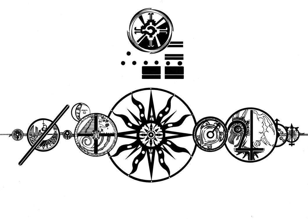 Quetzal Mayan Symbol Twelve Twenty-Two Twelve by
