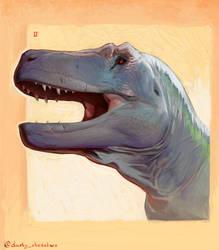 Rex bust