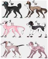Dog Adopt +Icons (CLOSED) by ArcticAquarius
