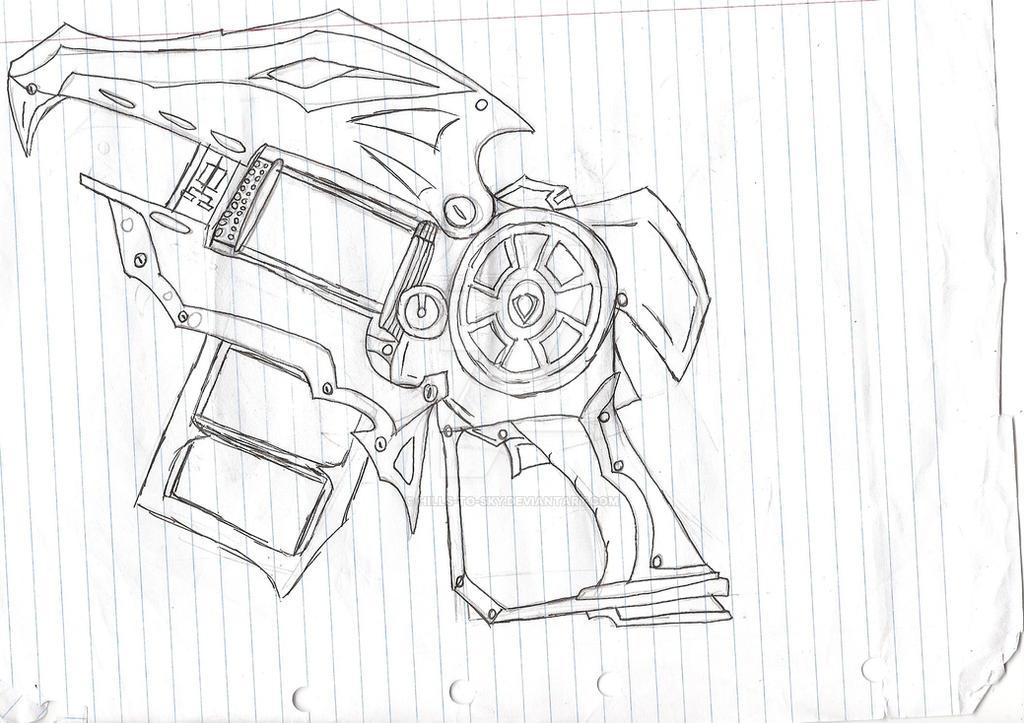 slugterra coloring pages blaster pro - photo#18