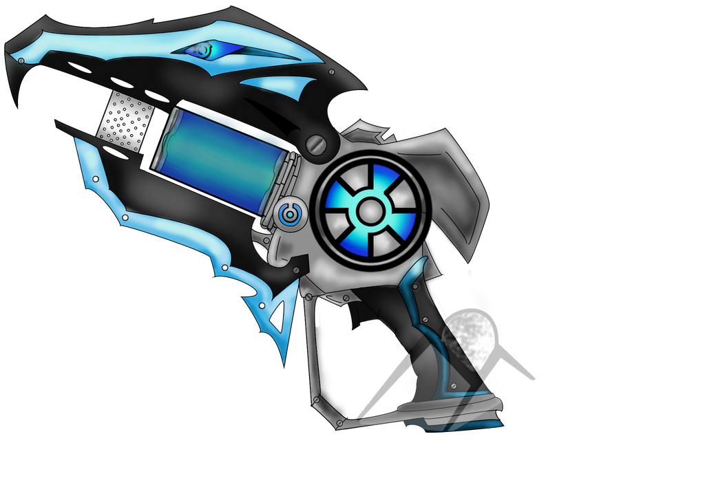 Slugterra OC Blaster Finished!!! by Hills-to-Sky