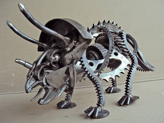 Triceratops by metalmorphoses