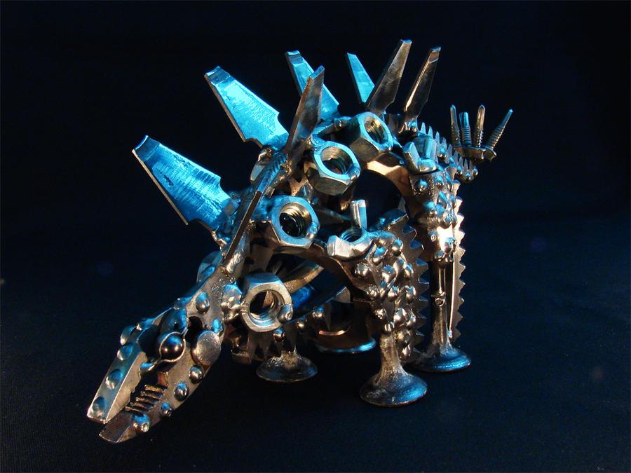 Stegosaurus by metalmorphoses