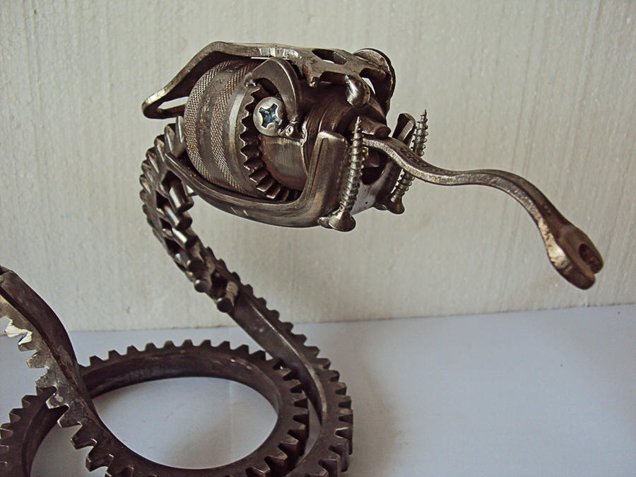 Steampunk Rattlesnake 2 by metalmorphoses