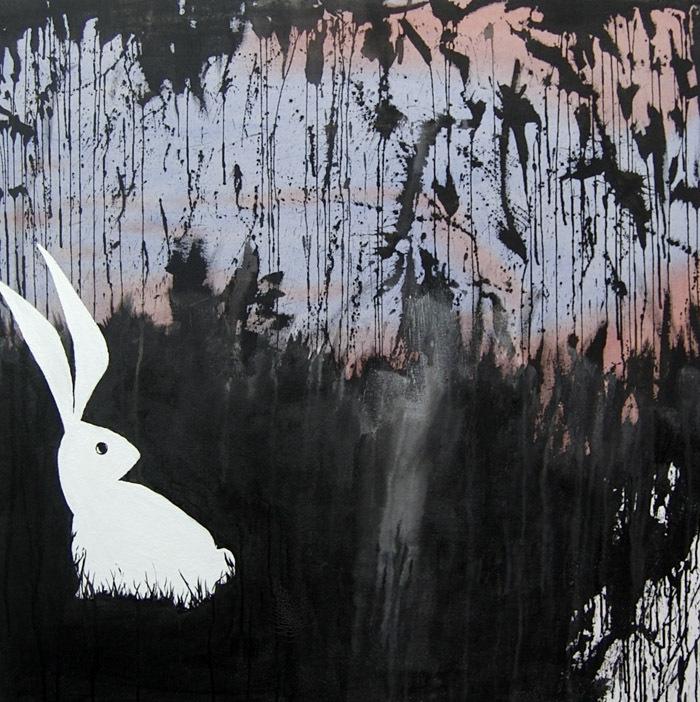 White Rabbit by CheshireGrins