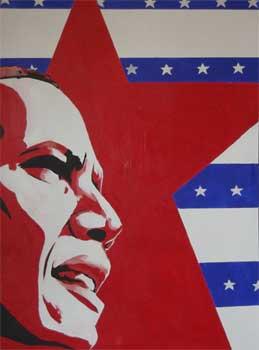 Obama Lenin by CheshireGrins