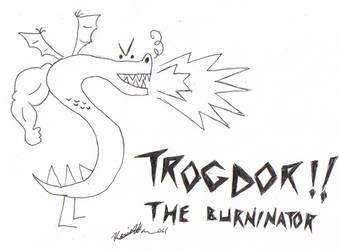 Trogdor by CheshireGrins